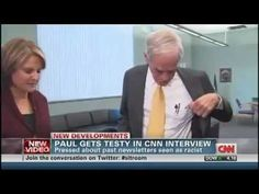 Ron Paul walks out on interview with CNN chief political analyst Gloria Borger - http://www.PaulFDavis.com foreign policy consultant and political adviser (info@PaulFDavis.com) author of United States of Arrogance and God vs. Religion