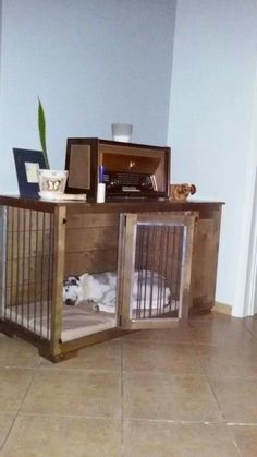 W&P Art Kennel with Drawer