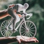 Olympic Athletes Crafted From Layers of Paper by Raya Sader Bujana