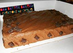 Chocolate Chunk Sheet Cake