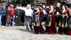 ΜΕΤΣΟΒΟ - Χορός στην πλατεία, 28 Οκτώβρίου 2011