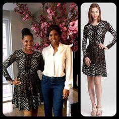 #BCBGMAXAZRIA Kylar Geometric Jacquard Sweater Dress (Small)   Original Price $298 - Your Price $100