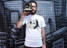 "Yes please. ""Captured Nostalgia"" - Threadless.com - Best t-shirts in the world"