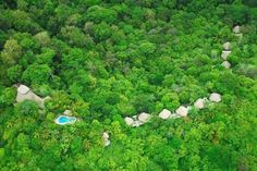 Set in a private nature reserve spread over 900 acres of Central America's last remaining lowland tropical rainforest in Costa Rica, Lapa Rios Rainforest Ecolodge overlooks the pristine point where the Golfo Dulce meets the wild Pacific Ocean.