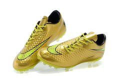 separation shoes 13734 67a42 Best Sale Nike Hypervenom Phantom Premium AG Gold Fluorescent Green  63.99.  Buy Football Boots