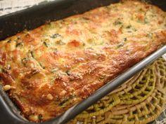 Doce Lar: Torta de Espinafre, Abobrinha, Ricota e Temperos: além de leve, é deliciosa, não tem glúten, nem lactose!