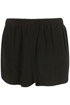 Black Silk Runner Shorts By Boutique - New In This Week - New In - Topshop USA - StyleSays