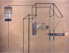 "Nader Ahriman ""For Ezra Pound"". Acrylic on canvas. Painting Prints, Contemporary Art, Wall Lights, Drawing, Canvas, Home Decor, Pintura, Tela, Homemade Home Decor"