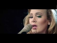 Adele - Someone Like You (Live at The Royal Albert Hall) - OMG, I am tearing up at the end of this...