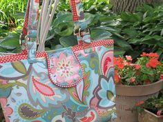 Nancy Zieman's Tips for Sewing Laminated Fabrics and Handbags.