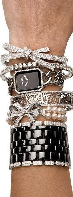 Chanel Bling Stack ♥✤ | KeepSmiling | BeStayBeautiful