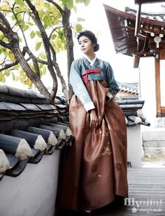 Hanbok, korean traditional clothes / My wedding / 내 님 기다리는 시간 / 비단.빔