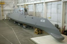 US Navy The Advanced Electric Ship Demonstrator (AESD), Sea Jet, funded by the Office of Naval Research (ONR), is a vessel located at the Naval Surface Warfare Center Carderock Division - Zumwalt-class destroyer - Wikipedia, the free encyclopedia