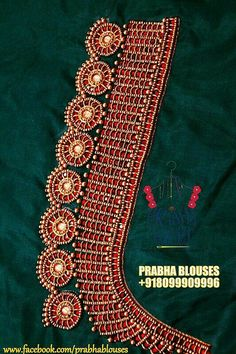 Wedding Saree Blouse Designs, Simple Blouse Designs, Blouse Designs Silk, Designer Blouse Patterns, Aari Embroidery, Embroidery Works, Hand Embroidery Designs, Hand Work Blouse Design, Maggam Work Designs