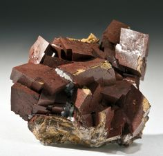 Dolomite, CaMg(CO₃)₂, Vekel Mine, Pinal County Arizona, USA