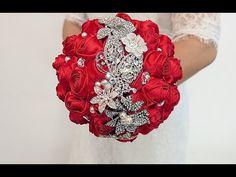 Lote De Trabajo Plata Diamante Pin Broche Boda Ramo de flores nupcial Pastel Arte Broche