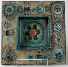 Rut Bryk ceramics Ceramic Wall Art, Tile Art, Ceramic Mugs, Ceramic Pottery, Pottery Painting, Ceramic Painting, Ceramic Artists, Handmade Tiles, Handmade Pottery