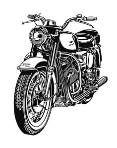Moto Guzzi V7 Ambassador 1972 - 1974  Sam's bike, same age as him. Still rides it all over LA.