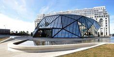 Architect Giorgi Khmaladze has designed a McDonalds and Fuel Station in Batumi, Georgia.