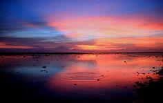 Indonesian Sunset at Gili Trawangan: A Painting of Nature |