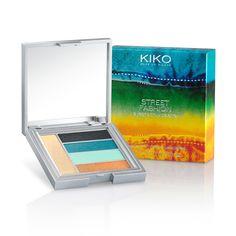 Paletas de Sombras Cozidas em edição limitada: Street Fashion Eyeshadow Palette - KIKO Make Up Milano