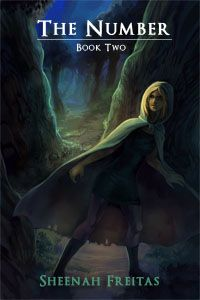 The Number by Sheenah Freitas. Book two of the Zincian Legend Trilogy