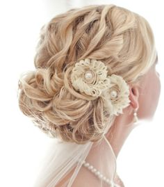 Get Ready for Your Close-up with Chic and Stylish #Wedding #Hairstyles