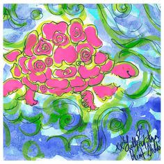 This week has moved by SLOWLY. Could it be because it's World TURTLE Day? We're ready for the weekend! #lilly5x5