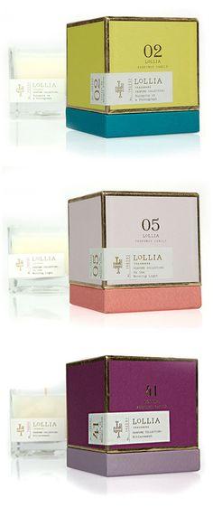 Lollia candles     via housemartin