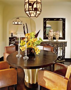 Spanish Room Designs | Spanish Dining Room Design Ideas with ...