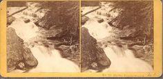 "1873 Kilburn Brothers Stereoview #73 - "" On the Pemigewasset"" New Hampshire"