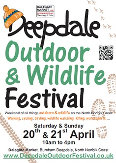 Deepdale Outdoor & Wildlife Festival, 20th & 21st April Burnham Deepdale, North Norfolk