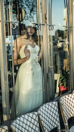 liz martinez 2018 bridal strapless sweetheart neckline light embellished bodice tulle skirt romantic soft a  line wedding dress (13) zv -- Liz Martinez 2018 Wedding Dresses