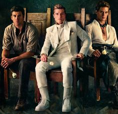Should I stop pinning Catching Fire stuff and go to bed? ...Only if these 3 are in my room when I go...