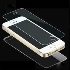 Tempered Glass Film Screen Protector iPhone 5 5S SE 6/6S 7-7plus Front + Back #Apple