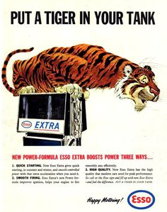 Esso Put A Tiger In Your Tank 1960s - Mad Men Art: The 1891-1970 Vintage Advertisement Art Collection