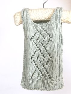 strikket babyvest Baby Barn, Baby Knitting Patterns, Hobbies And Crafts, Little Ones, Sweaters, Baby Knits, Mint, Fashion, Weaving Techniques
