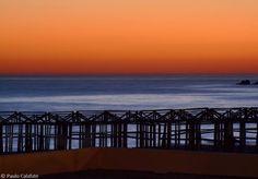 Póvoa de Varzim at sunset :)