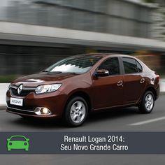 Renault Logan chega mais bonito e moderno à linha 2014. Confira na matéria: https://www.consorciodeautomoveis.com.br/noticias/novo-renault-logan-2014-a-partir-de-r-370-31-mensais?idcampanha=206&utm_source=Pinterest&utm_medium=Perfil&utm_campaign=redessociais