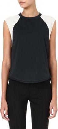 3.1 Phillip Lim Baseball sleeveless top http://homeoffashion.co.uk/womens/31-phillip-lim-baseball-sleeveless-top/