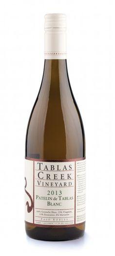 Top 10 Wines in the US Press : 2013 #Tablas Creek Vineyard Patelin de Tablas Blanc