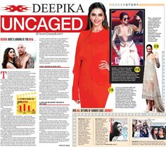 The Telegraph: MadamX- Deepika Uncaged