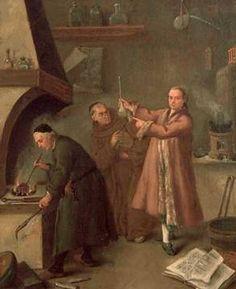 Pietro Longhi, Die Alchemisten