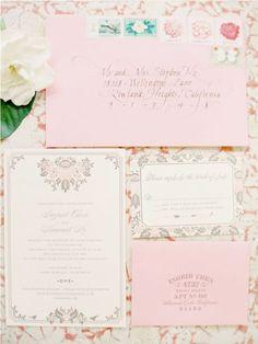 classy wedding invites