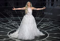 """Lady Gaga honored """"The Sound of Music's"""" 50th anniversary with a phenomanal medly of songs from the smash hit film. From """"My Favorite Things"""" to  """"Climb Every Mountain,"""" Gaga captivated the audience with her stellar performance."""
