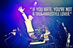 No hate, just love in the Hardstyle scene