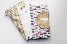 december daily 2015 | fabric travelers' notebook cover + inserts | elizabethrosemond.com