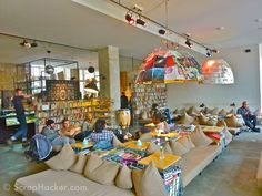 15 D.I.Y Interior design ideas from Michelberger Hotel, Berlin