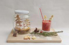 winter breakfast in a jar