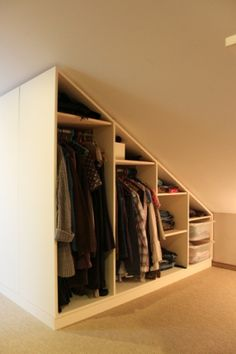 1000 images about dressing on pinterest wands closet and tiny closet - Decoratie zolder ...